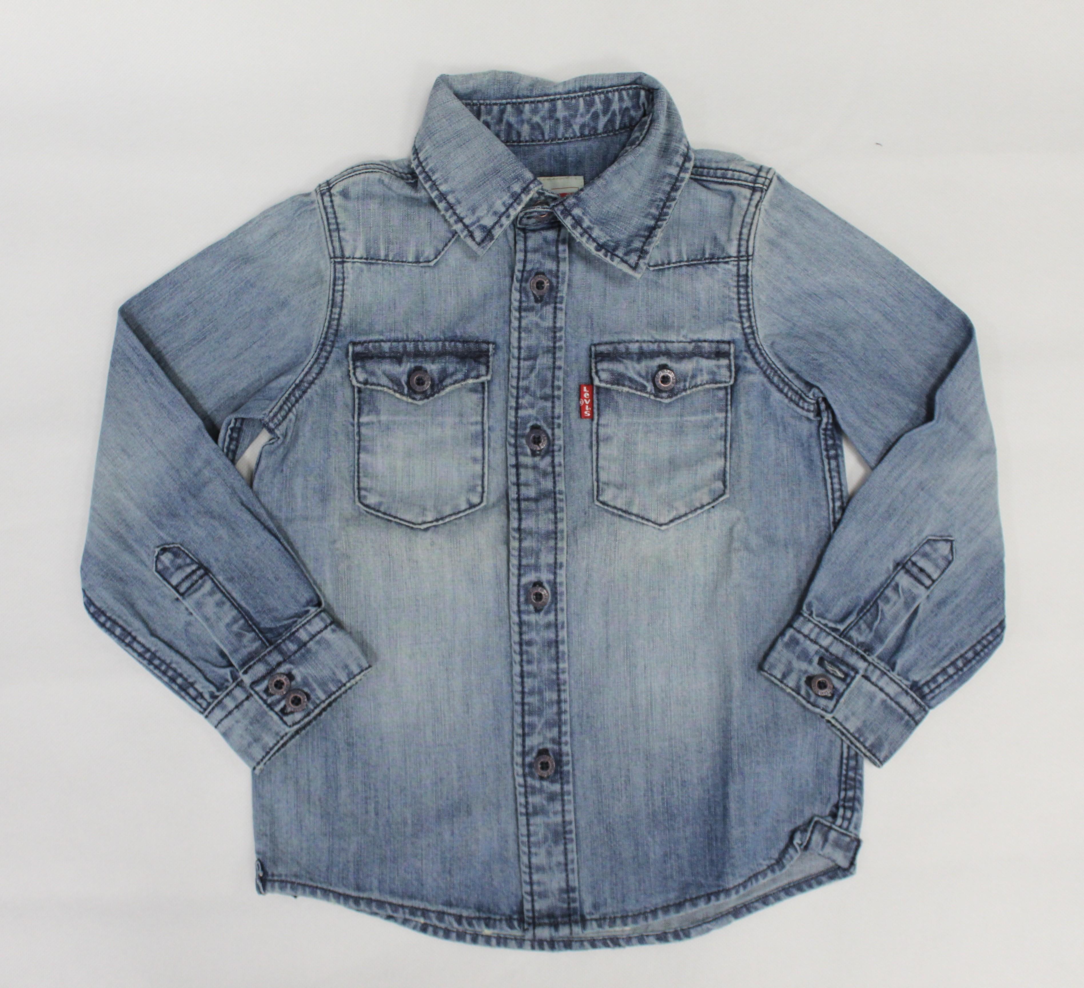 newest 83bcf 14df3 Camicia Jeans Levi's